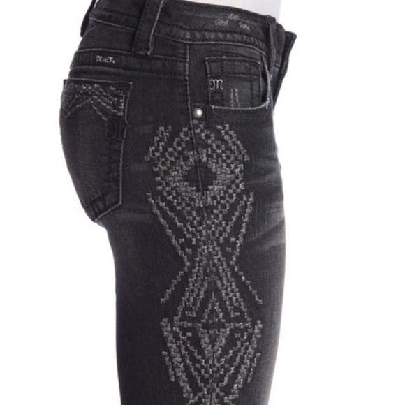 Miss Me Denim - Miss Me Skinnies with Metallic Embroidery